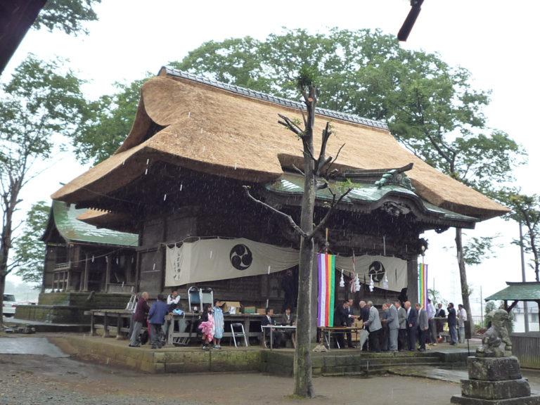 国指定登録文化財高部屋神社 神奈川県伊勢原市